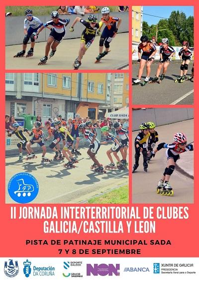 Convocatoria para la II Jornada de la Liga Interterritorial de clubes Galicia-Castilla y León