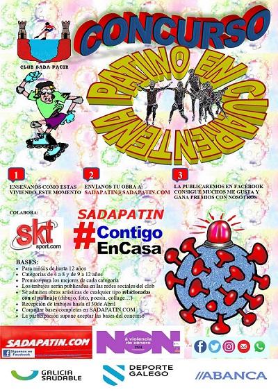 """Concurso Sada Patín """"Patino en cuarentena"""""""