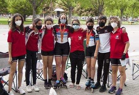 Éxito en el Campeonato de España de circuito infantil-juvenil y Copa de España alevín